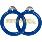 Plastic Coated Aluminium Grips RING- Blue (each)