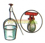 Bucket on Rope with Pulley