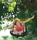 Outdoor Blue and Black 60cm Nest Swing