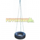 Horizontal Tyre Swing on Rope- 3pt