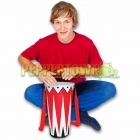 "Inflatable 14"" Bongo Drums"