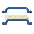 Playground Plastic Handle BLUE- long (pair)