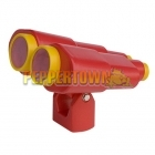Jumbo Playground Binoculars- RED
