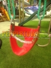 Soft Rubber Junior Safety Swing - RED