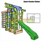 Skyfort Clamber Climber with TWS Slide