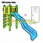 Roller Water Slide Kit