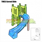 Curved Water Slide Kit - Right or Left