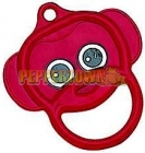 Plastic Monkey Ring - Red