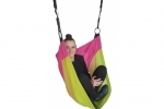 Adjustable Denoh Cocoon Seat - Magenta and Lime