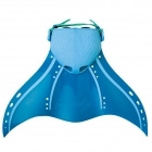 Aquarius Mermaid Fins Blue Aqua - Large
