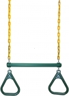 Heavy Duty Green and Gold Trapeze (70kg)