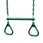 Heavy Duty Trapeze & Ring Combo - Green (113kg)
