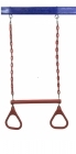 Hills Compatible Trapeze & Rings - Red