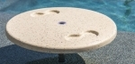In Pool or Spa Table with Cup Holders