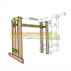 2m Monkey Bar Frame