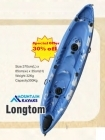Longtom Kayak - 3 Seater