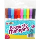 Marker Coloring Brush Tip Pk10