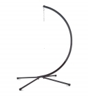 Metal Crescent Hanging Chair Stand