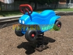 Motorcycle ATV Spring Toy