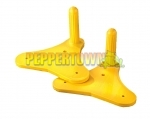 Fun Ride Trolley Handle - Yellow (each side)