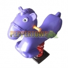 Pony Spring Rocker - Purple