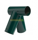 Right Angle Swing Corner - 100 x 80 x 80mm - Green