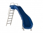 Rogue 2 Slide: Right Curve -Blue