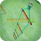 5 Rung Cubby House Rope Ladder (Green)