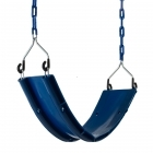 Rubber Belt Swing on Chain- BLUE