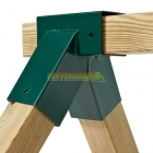 Green Swing Corner Square - 90 x 90 x 90mm -  Short Tube