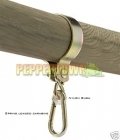 Swing Hanger for Round Logs - 100mm